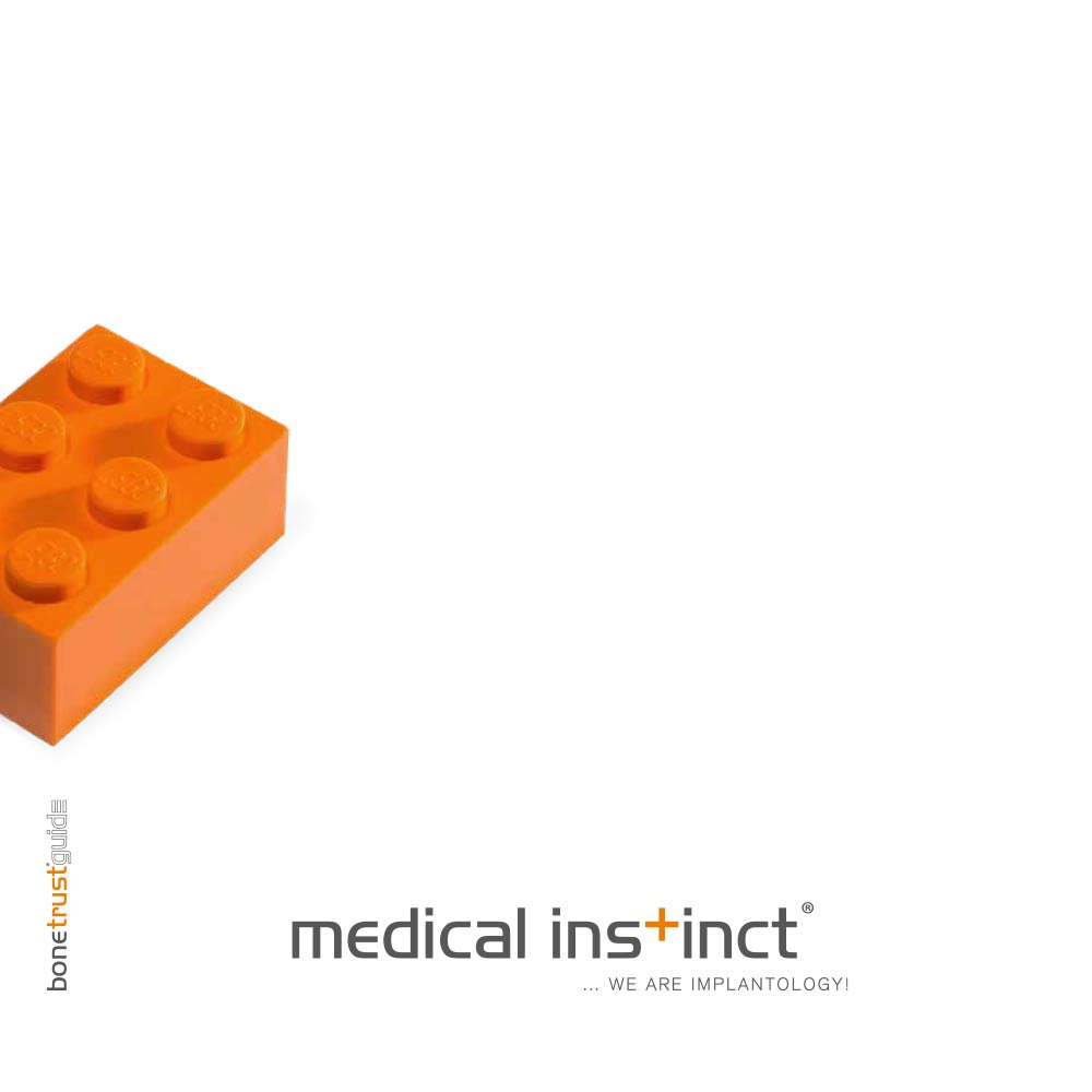 Medical Instinct® BoneTrust Guide Katalog Titelbild