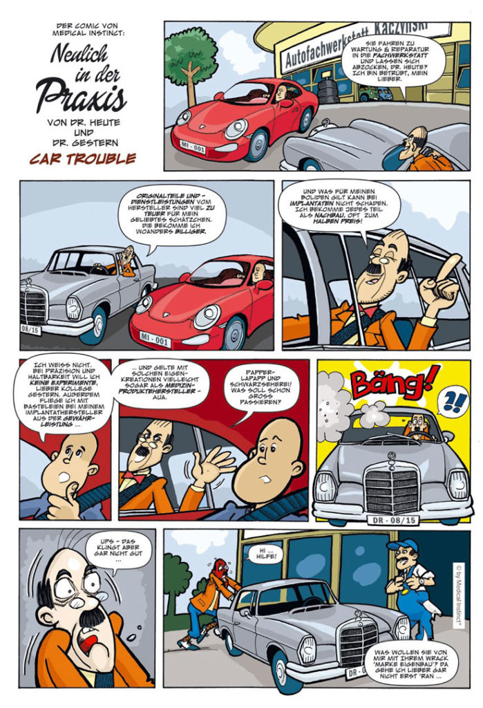 Dental-Comic - Car Trouble