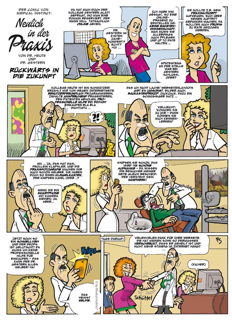 Dental-Comic - Rückwärts In Die Zukunft