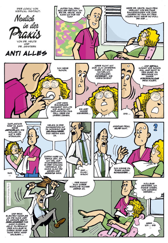 Dental-Comic - Anti Alles