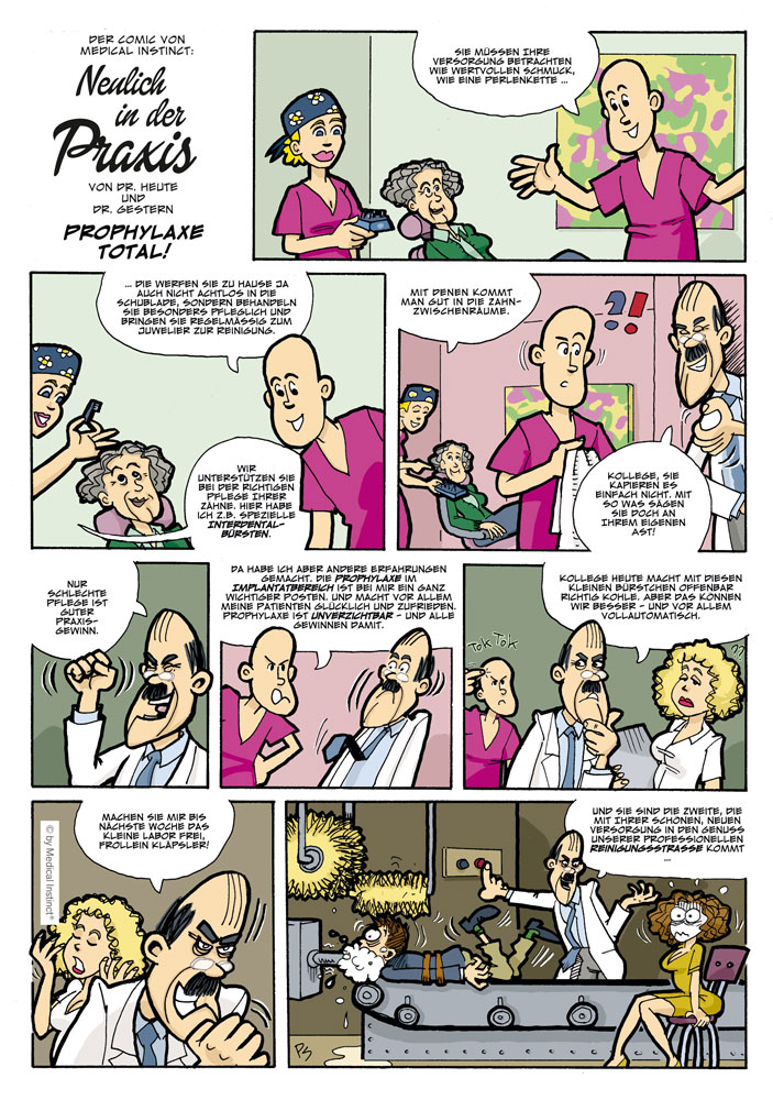 Dental-Comic - Prophylaxe Total