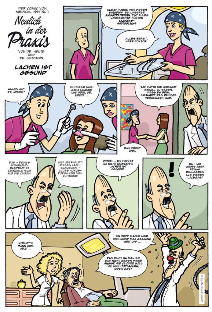 Dental-Comic - Lachen Ist Gesund