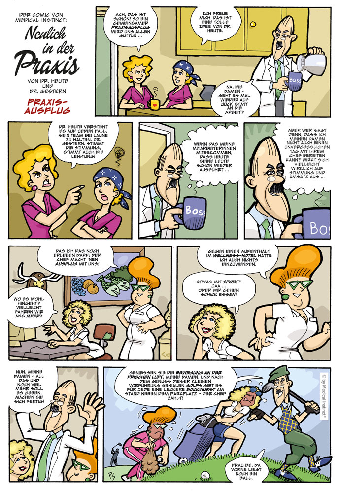 Dental-Comic - Praxisausflug
