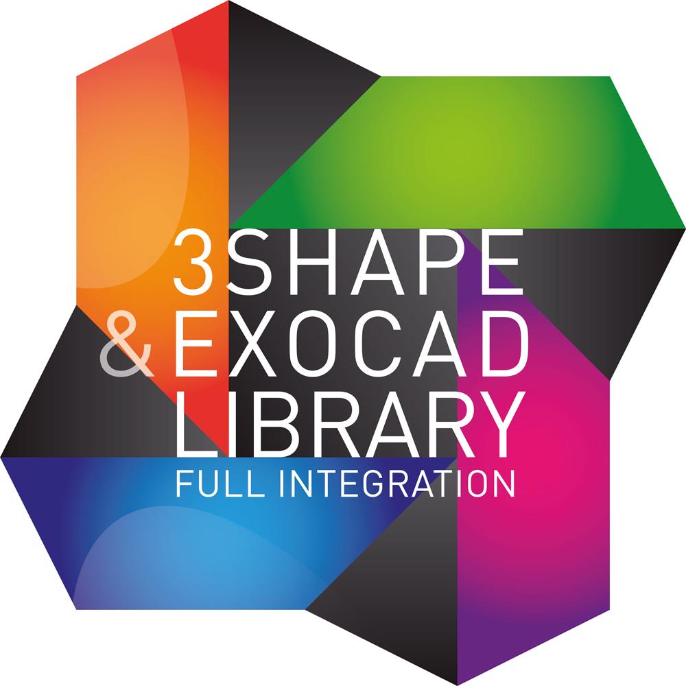 3Shape Exocad Library Logo