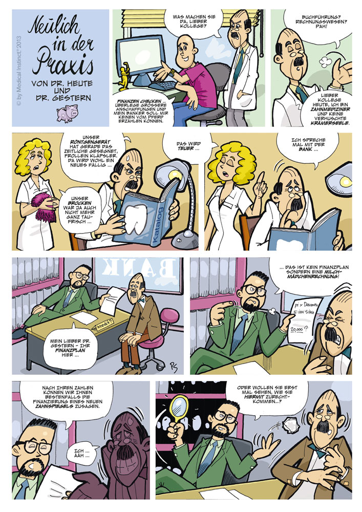 Dental-Comic - Finanzplan