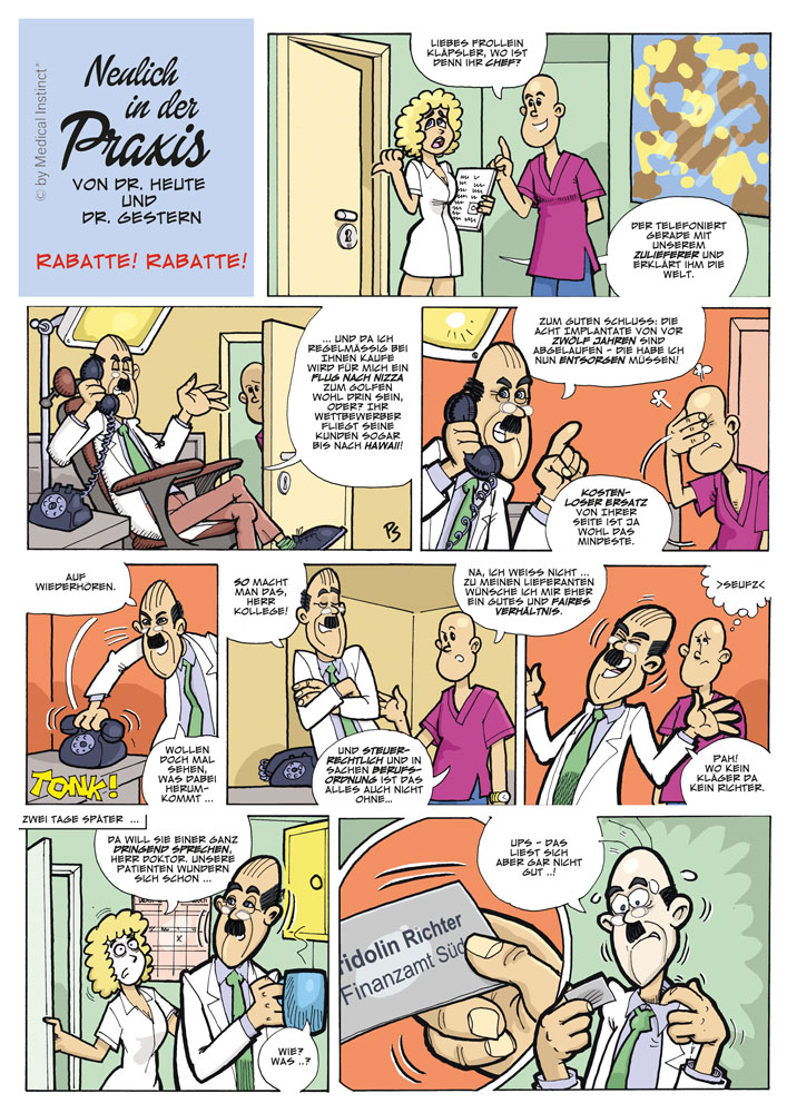 Dental-Comic - Rabatte Rabatte