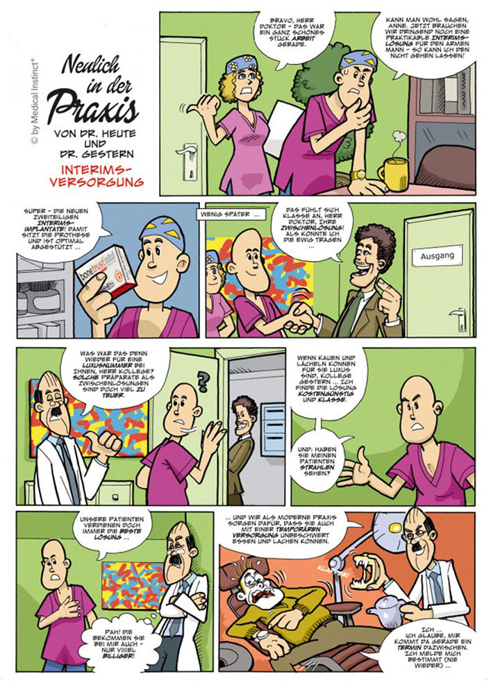 Dental-Comic - Interimsversorgung