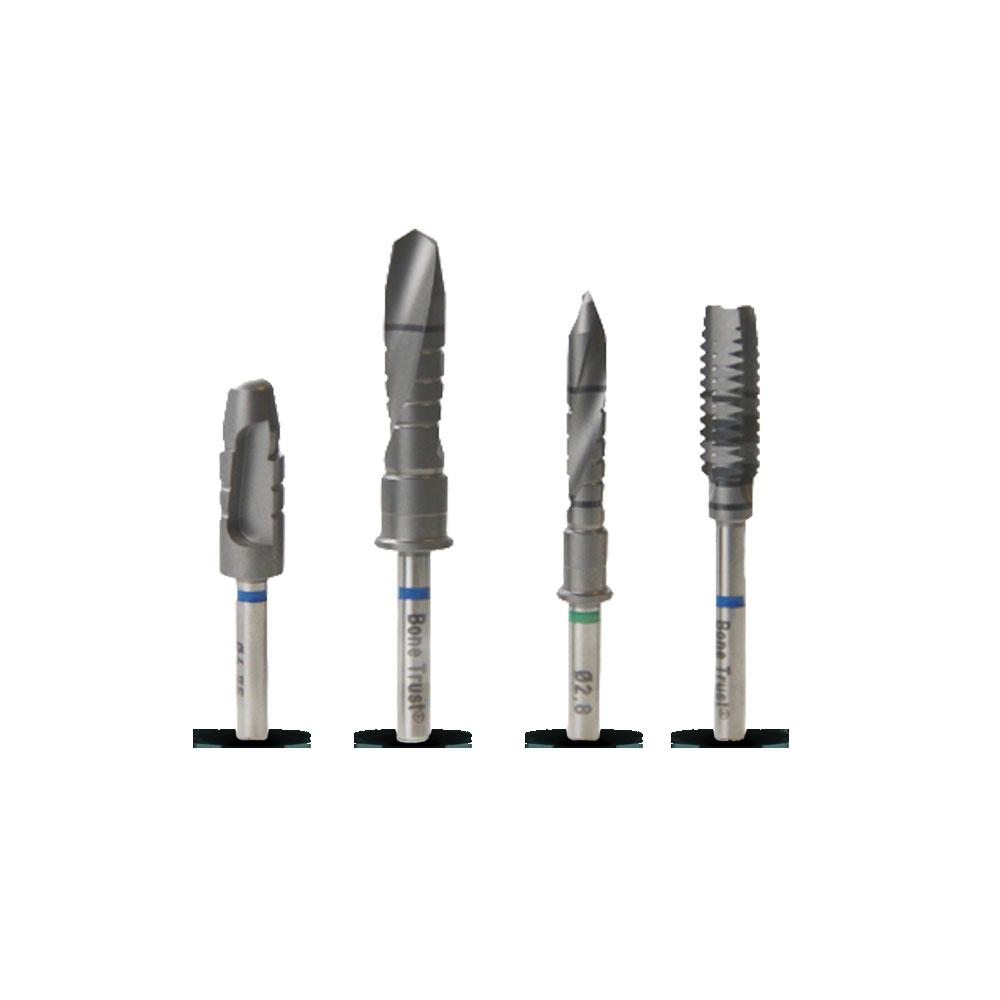 Bohrer der Medical Instinct® BoneTrust® Implantatsysteme
