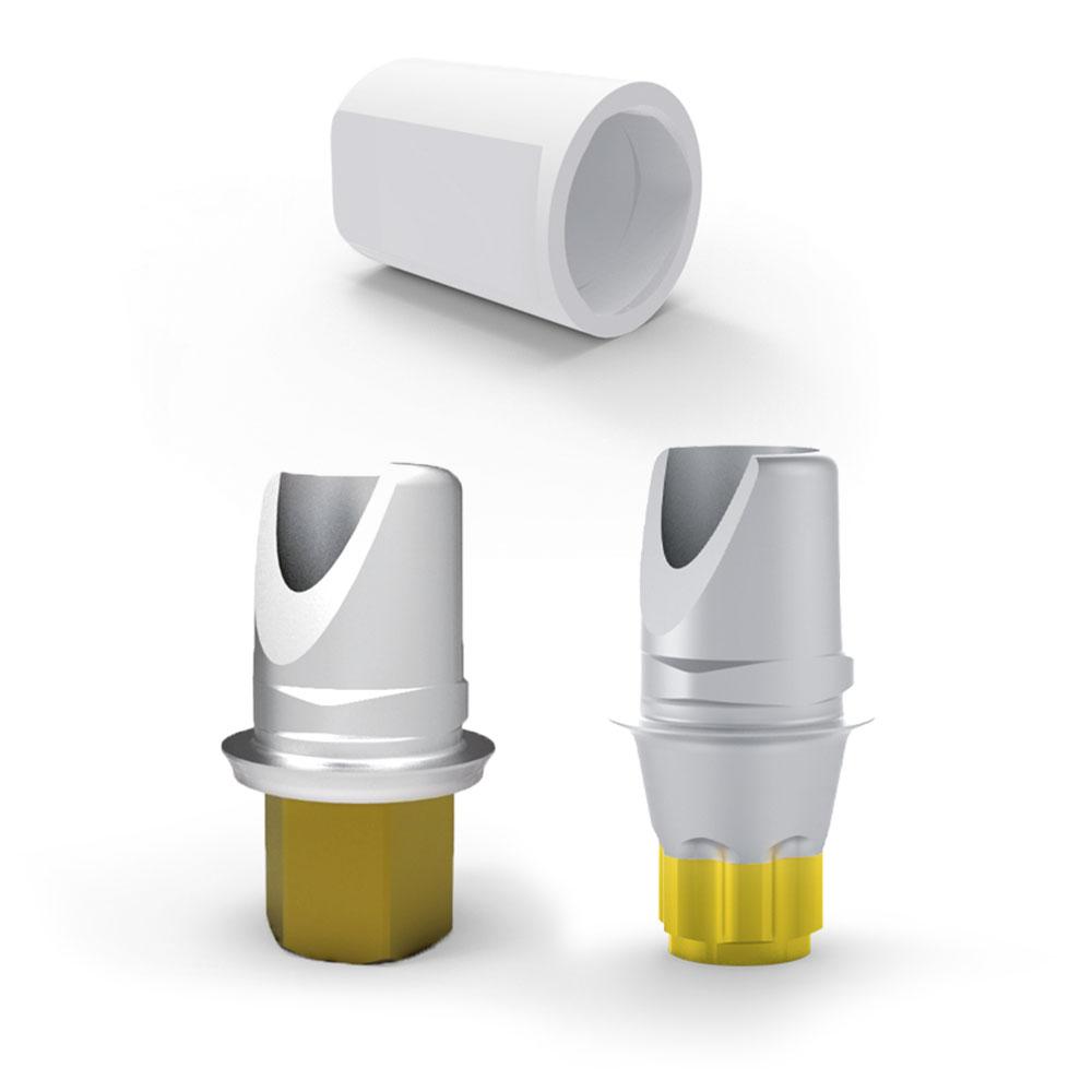 Klebebasis Titan Kurz für Medical Instinct® CAD/CAM