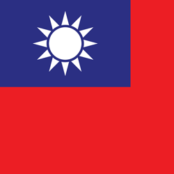 Flagge Taiwan- Medical Instinct® Kontakt