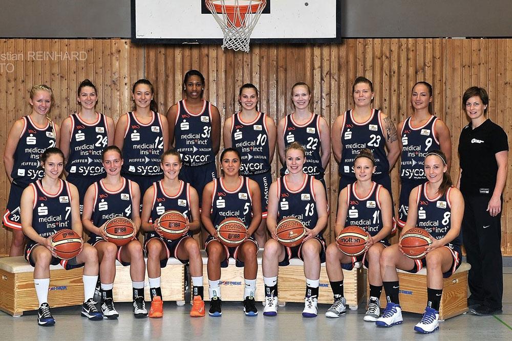 Medical Instinct® Sportförderung BG Göttingen Frauenmannschaft
