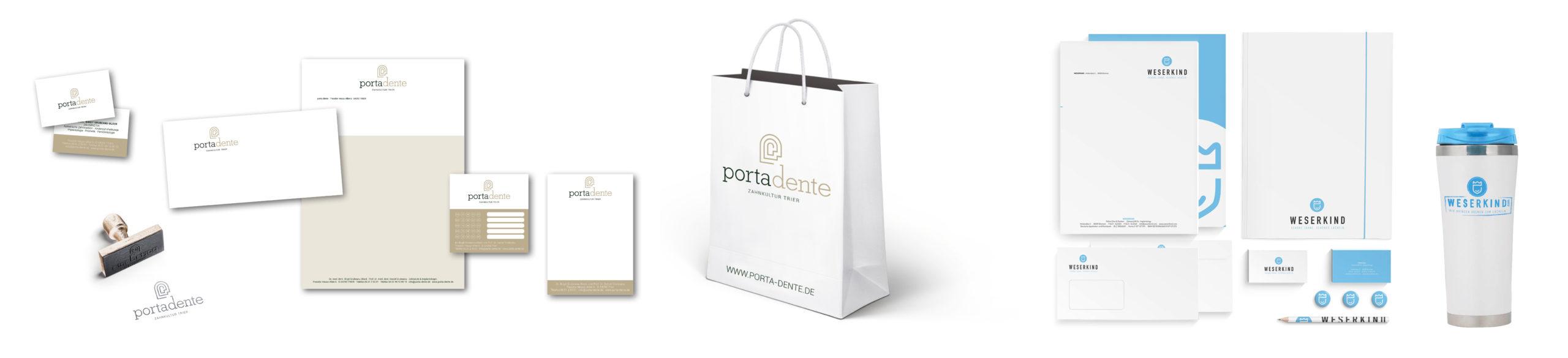 Praxismarketing - Printprodukte, Geschäftspapierausstattung, Werbetechnik