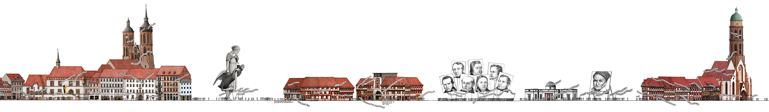 Stadtansicht Göttingen