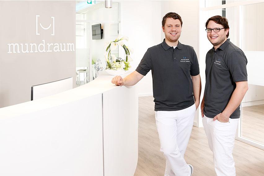 Zahnarzt - Duo und Implantologen bei Zahnarztpraxis Mundraum