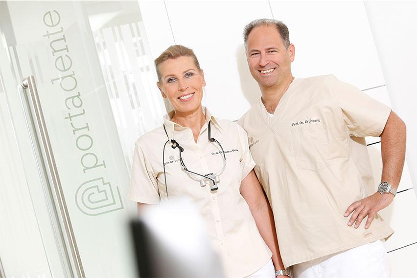 Zahnarzt und Implantologe Grubeanu-Block und Prof. Dr. Grubeanu