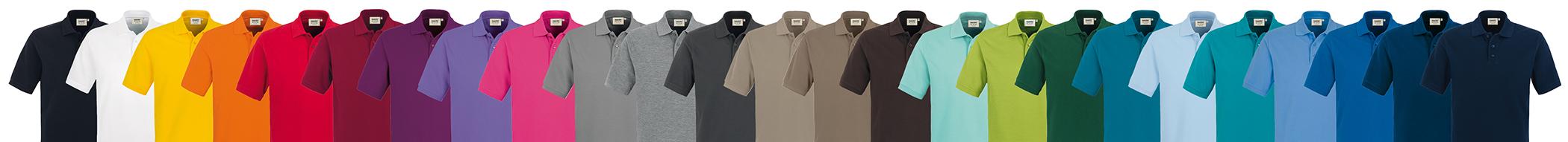 Praxisbekleidung HAKRO Polo Shirts in vielen Farben