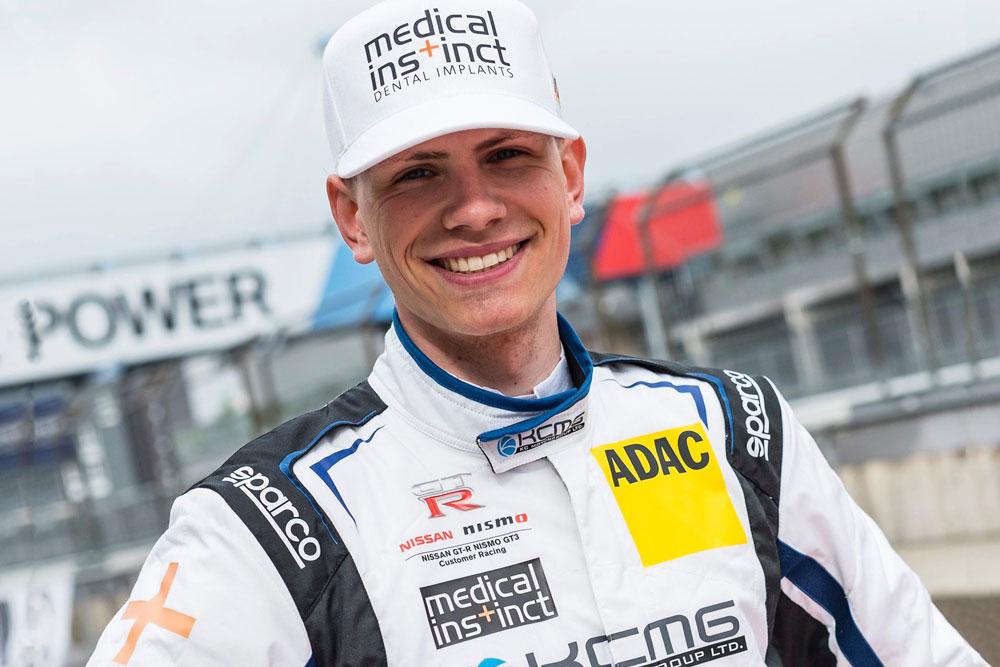 Medical Instinct® Rennfahrer Nico Menzel