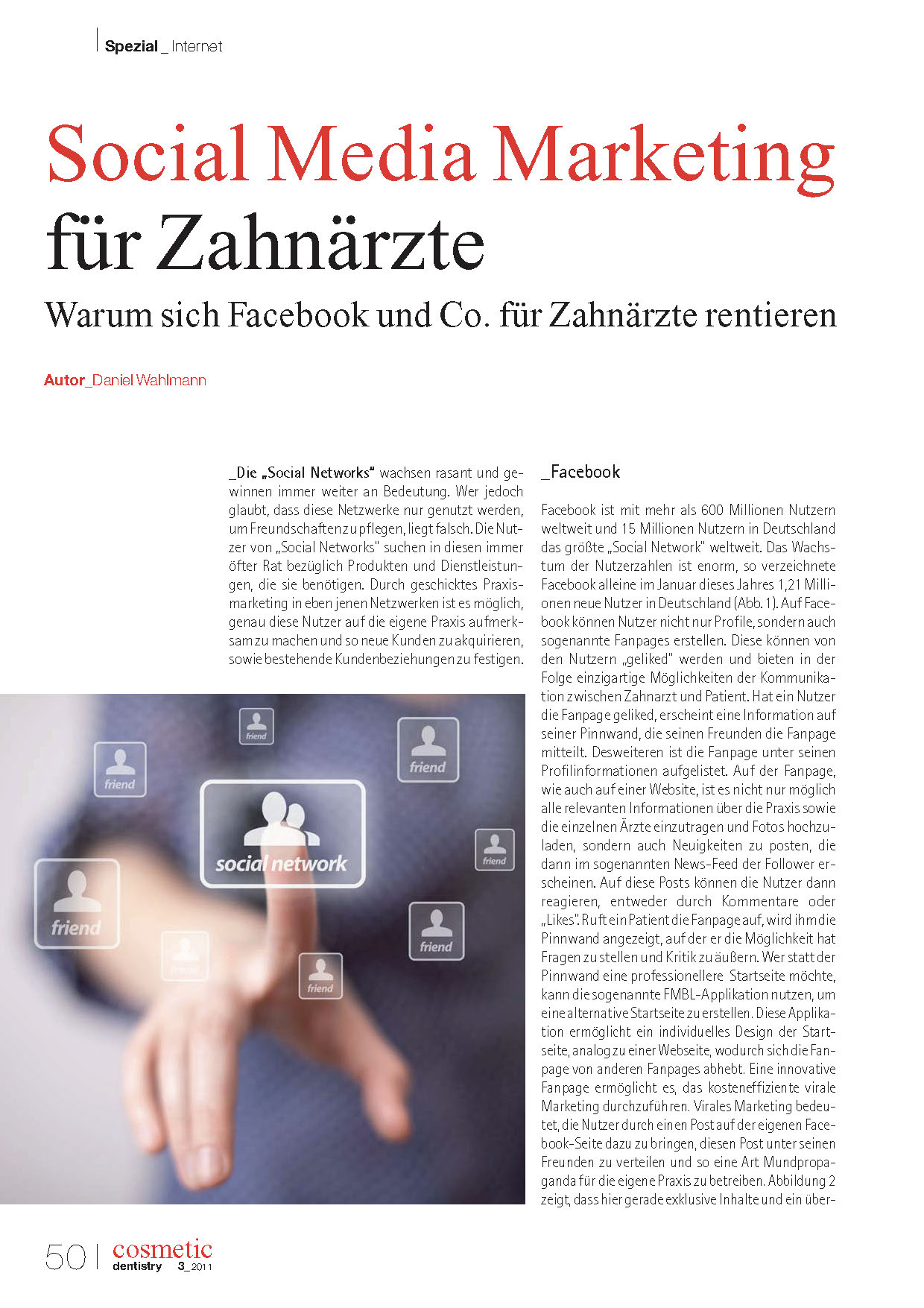 Social Media Marketing für Zahnärzte