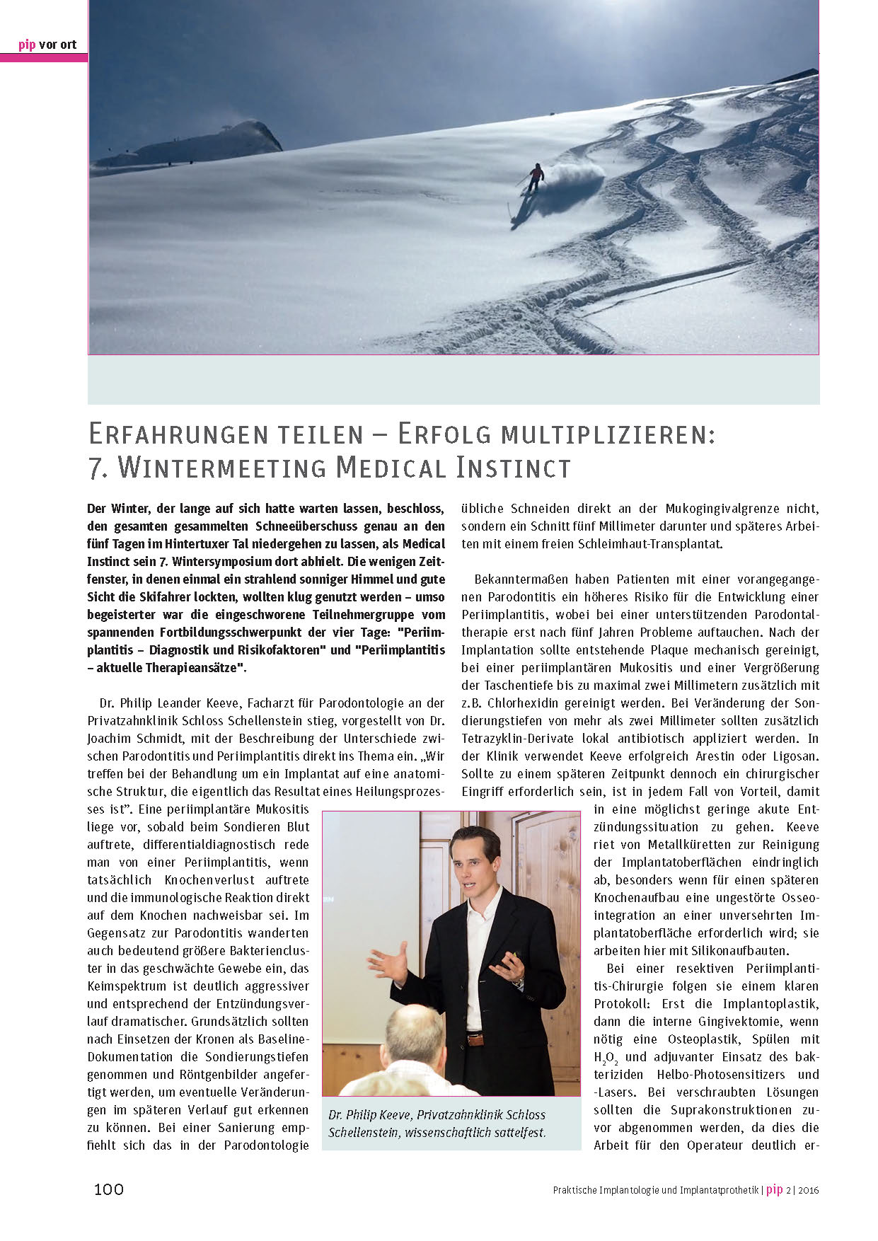 Pip – 7. Wintermeeting Medical Instinct