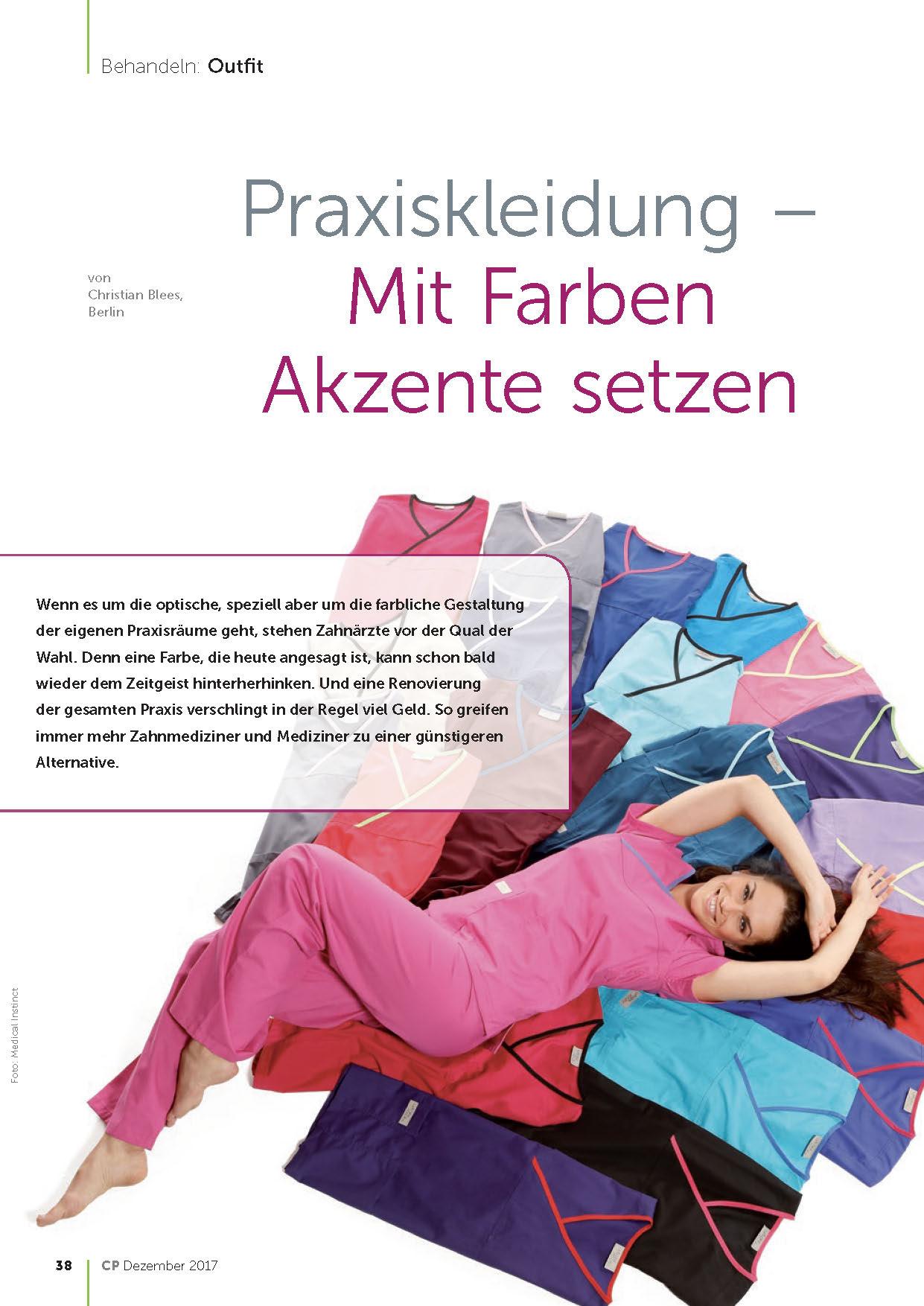Medical Instinct® Praxisbekleidung – Landau in allen Farben