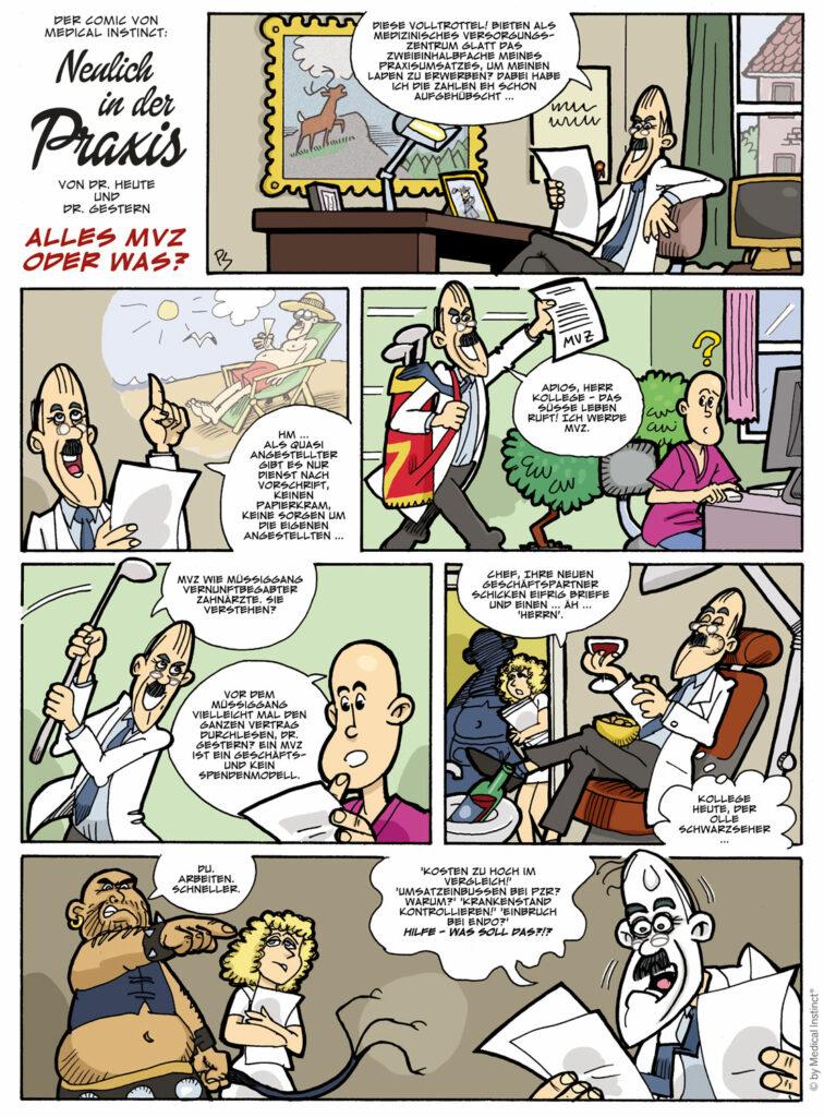 Dental-Comic Alles MVZ Oder Was